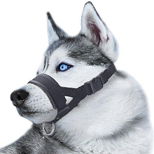 Museruola per cane in nylon,...