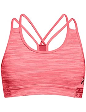 Under Armour Heat Gear novità reggiseno sportivo, ragazza, Heat Gear Novelty, Brilliance, L