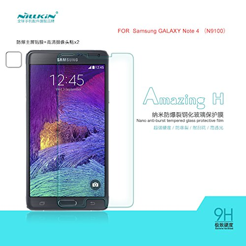 Nillkin Tempered Glass Screen Protector for Samsung Galaxy Note 4 N9100