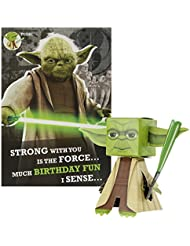 Star Wars Birthday Card 'Build Your Own Yoda' by Hallmark