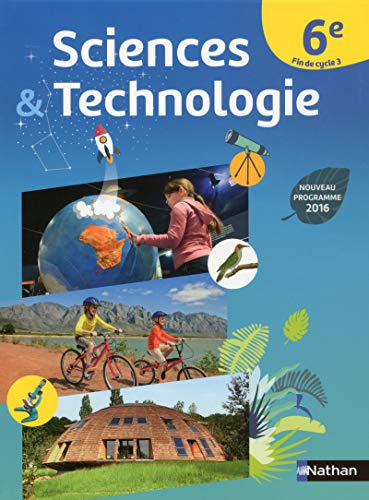 Sciences & technologie 6e cycle 3