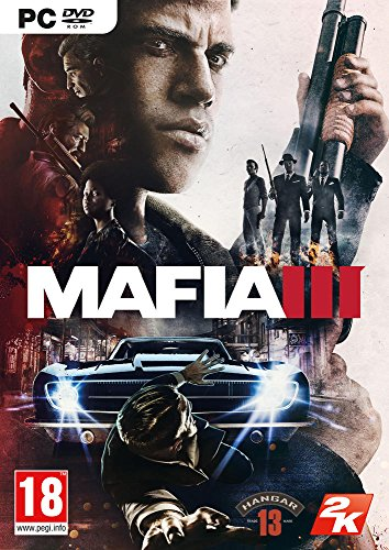2K Mafia III, PC Basic PC video game - Video Games (PC, PC, Action / Racing, M (Mature))