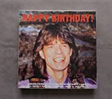 Happy Birthday - Box-set to celebrate Mick Jagger's 50th birthday(48 page picture book of Mick Jagger's career,T-shirt ( xl),Poster,Postcard ,Certificate L.E.2000 Copies + Cd)