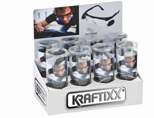 kwb LED Arbeitsbrille 947690 (mit Zwei Separat Schaltbaren, Flexibel einstellbaren LED's, mit...