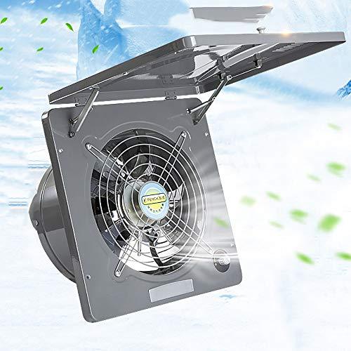 13 inch Ventilador Extractor silencioso, 220V extractor de aire Cocina de pared, ventilador de escape...
