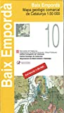 Baix Emporda, Sant Feliu de Guixols, Mapa Comarcal de Catalunya / Katalonien topographische Karte, Spanien Top Karten 1:50.000, ICC - Landkartenhaus