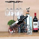 8888Mall Creative Continental fer Casier à vin Armoire Décoration Ikea moderne minimaliste Maison Salon à vin Affichage de rack Rack 4