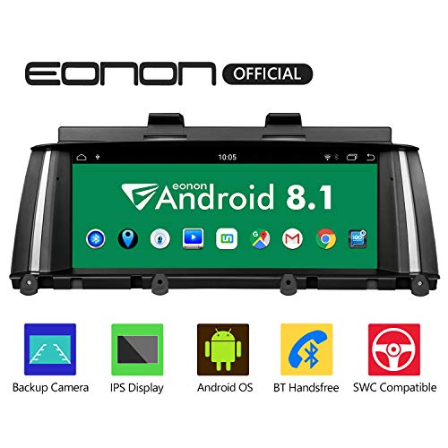 eonon GA9205NB Android 8.1 fit BMW X3 F25 X4 F26 (2014-2016) NBT Audio Stereo Unterstützung Apple Android Auto Play Retain iDrive System Bluetooth SWC Backup Cam 8.8