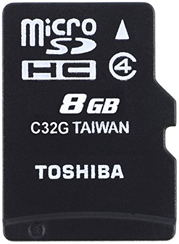 Toshiba High Speed M102 8GB Micro SD Memory Card Class 4 - THN-M102K0080M2 Test