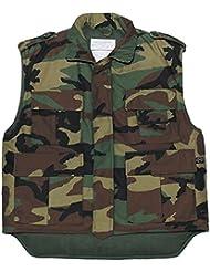Ejército de los E.E.U.U. Chaleco acolchado woodland S- XXL - S