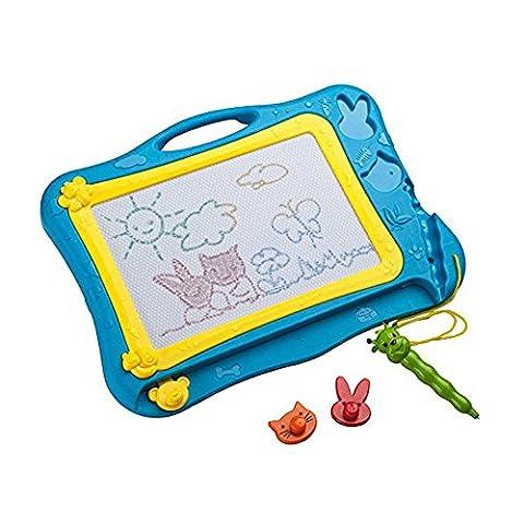 MIMINUO Ardoise Magique Peinture Écriture Colorés Tableau De Dessin pour Enfant 3 ans - Jouet Educatif
