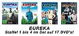 EUReKA: Die geheime Stadt - Season/Staffel 1-4 (17 DVDs)