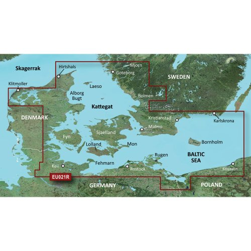 Garmin BC g2 HXEU021R Denmark East and Sweden Southeast Garmin G2 Vision Karte