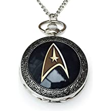Star Trek Pendant Uhr Halskette. Trekkie