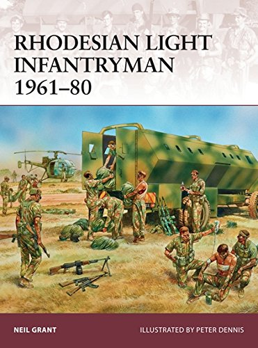 Rhodesian Light Infantryman 1961-80 (Warrior, Band 177) (Light Rhodesian)