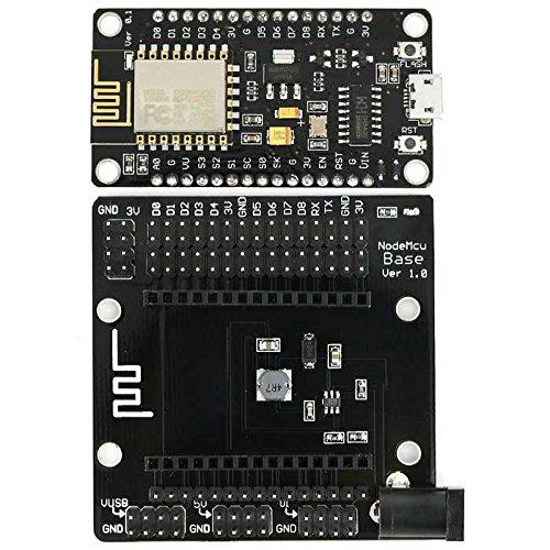 LDTR-WG0136 ESP8266 ESP-12E Development Board Nonparallel Wifi Module  w/Integral CH340G IC + IO Expansion Board Development board