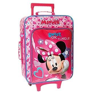 Disney Minnie Fabulous Maleta de cabina, 50 cm, 26 Litros, Rosa