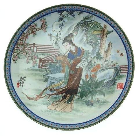 C1988Imperial Production de porcelaine à petites Merveilles du Rouge Mansion Tai-yu par Zhao Huimin Cp1846