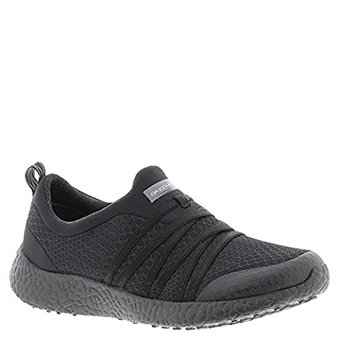 Skechers Sport Burst Very Daring Ladies Athletic Shoes, Color- Black, Color- black, Shoe Size- 5.5