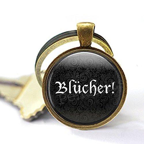 bab Blücher ! Halloween-Kostüm Schlüsselanhänger - Frankenstein Schlüsselanhänger - Halloween-Schmuck - Frau Zitat - Cosplay Schlüsselanhänger (Frankenstein Und Frau Kostüm)
