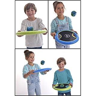 SportFit 630-58 Aktiv Hand-Trampolin Ballspiel Spiel mit 2 Bälle