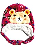 #7: Zacharias Winter Woolen Soft Cap For Baby Kids Upto 3 Years (Red)
