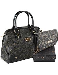 7333487a4b6b9 Set  Damentasche + Geldbörse der Marke Giulia Pieralli in 6 (Damen  Handtasche + Geldbörse