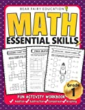 Math Essential Skills for Grade 1, Activity Workbook for Kids, Math Workbooks: math workbooks grade 1, 1st grade math workbooks, 1st grade workbooks