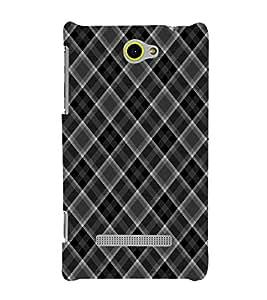 EPICCASE allotrope black Mobile Back Case Cover For HTC Windows Phone 8S (Designer Case)