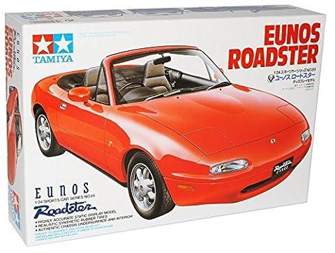 Mazda MX5 NA 1989-1998 Rot Cabrio 24085 Kit Bausatz 1/24 Tamiya Modell Auto mit individiuellem (Modellauto Mazda Mx 5)