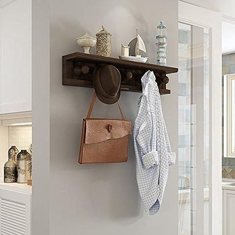 FEI&S Creative nuevo gancho de la puerta metálica hogar europeo multifuncional sin hierro forjado nail-locker gratis !A GANCHOS DE