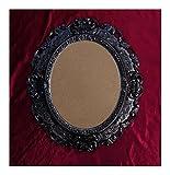 Lnxp BILDERRAHMEN Antik Barock in der Farbe: Schwarz 45x38 cm Oval REPRO Bilder für 28x22 cm Oder 22x28 cm BAROCKRAHMEN Bilder DEKO