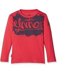 El Niño 3049 Camiseta Manga Larga, Niños, Grosella, 12