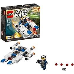LEGO Star Wars - Microvaisseau U-Wing - 75160 - Jeu de Construction