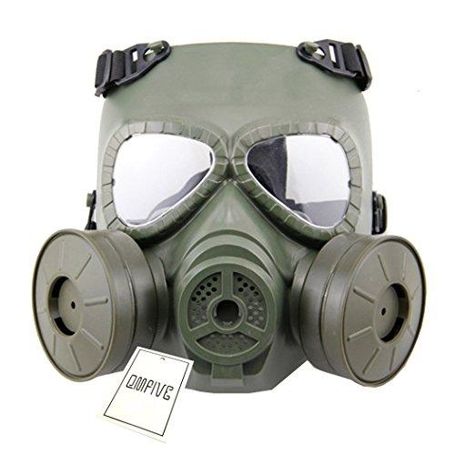 Táctico Máscara QMFIVE Dummy Anti Niebla máscara