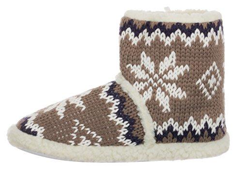 brandsseller Pantofole Uomo Marrone