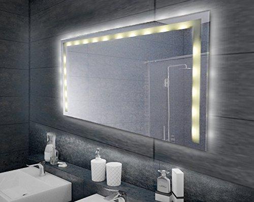 LED-Spiegel, Badspiegel mit Beleuchtung 80x60cm