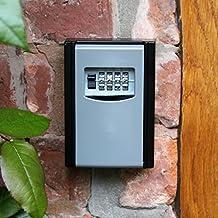Llave fuerte con código de número para montaje en pared en–Interior y Exterior