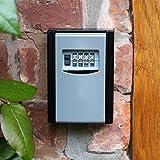 Caja fuerte para llaves con código numérico para montaje en pared en interiores y exteriores