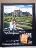 70er Jahre : BENSON & HEDGES FILTER ZIGARETTEN - alte Werbung /Originalwerbung/ Printwerbung /Anzeige /Anzeigenwerbung GROSSFORMAT 21 x 27 cm