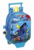Disney Walt Findet Dorie Nemo Dory, Mini Rucksack mit Trolley (S280), blau, 27 x 22 x 10 cm
