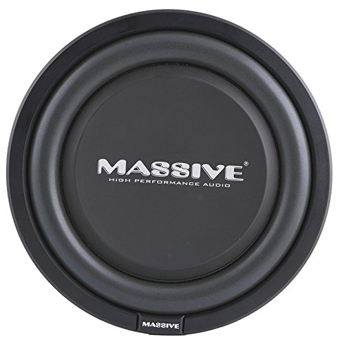 Massive Subwoofer 12 (Autostyle MS UFO12 Massive Schmalle Subwoofer, 12 Zoll)