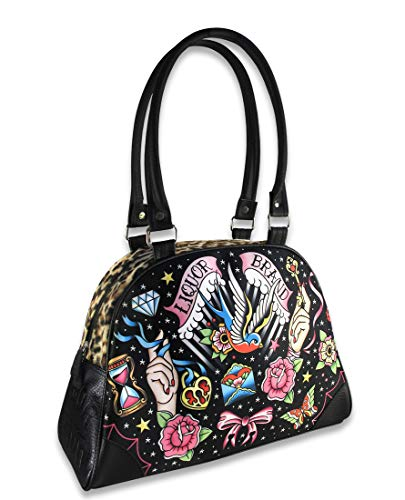 Liquor Brand - Damen Bowlingtasche Bag Tattoo Style - True Love