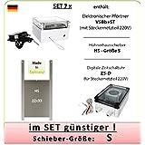 SET 7_x - Pförtner mit Netzteil, Außenmontage, Zeitschaltuhr, Hühnerklappe AXT-Electronic