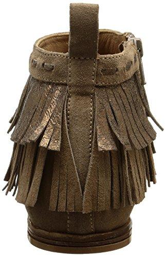 NOW 2689, Bottes Indiennes femme Marron (Velour Castoro/Vesuvio Castoro)