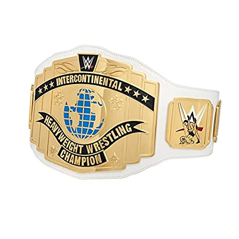 WWE Réplique de la ceinture commémorative de l'Intercontinental Championship 2014 Blanc