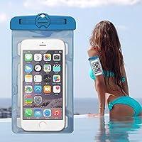 HEOLI Wasserdichte Handyhülle für Workout Armband Handyhalter Handyhalter unter 6 Zoll Smartphone