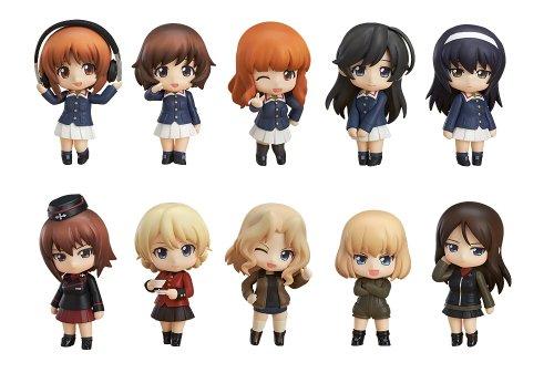 Nendoroid Petit Girls u0026 Panzer ( non-scale ABS...