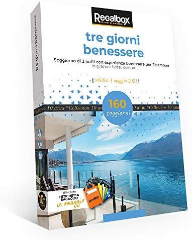 Regalbox - Tre Giorni Benessere 2019 2019 2019 - Cofanetto Regalo | Cliente Al Primo  | Nuovo Prodotto  951c23