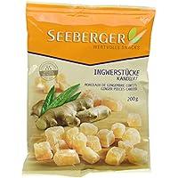 Seeberger Ingwer-Stücke, 12er Pack (12 x 200 g Packung)